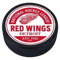 Detroit Red Wings 3D Textured Block Souvenir Hockey Puck