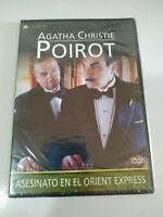 Asesinato en el Orient Express Agatha Christie Poirot - DVD Nuevo - 2T