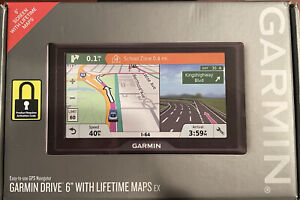 "Garmin Drive 6"" with Lifetime Maps EX (Never-Used)"