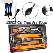 Car Air Pump wedge +12pcs  Panel Removal Open Pry Tools Kit Auo Dash Door Trim