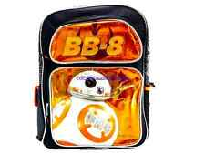 "Disney* Star Wars The Force Awakens BB-8 Astro Droid 16"" Canvas Backpack-4444"