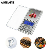 Portable 500g-0.1g Gram Mini Digital Scale Jewelry Pocket Balance Kitchen Scale