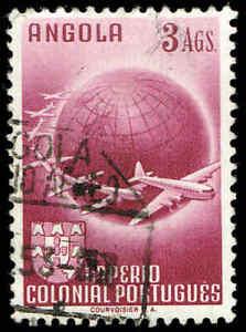 Scott # C23 - 1949 - ' Planes Circling Globe '
