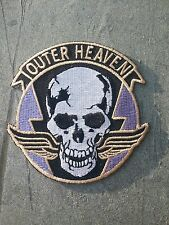 OUTER HEAVEN Patch Hook and Loop Metal Gear Solid Cosplay Venom Snake Big Boss
