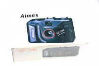 Aimex SP-500 35mm Film Point & Shoot Film Camera with Box Manual