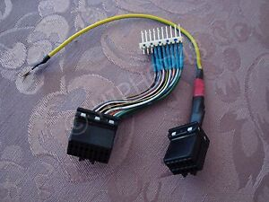 Ford NF NL Fairlane Cluster to EF EL Fairmont Conversion Wiring Loom