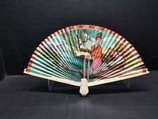 Hand Fan Unicorn Brand Geisha Double Sided