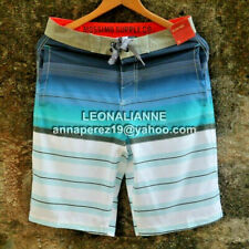 70% OFF! AUTH MOSSIMO SUPPLY CO. STRETCH SWIM SHORT BOARDSHORT SZ 32 BNWT $24.99