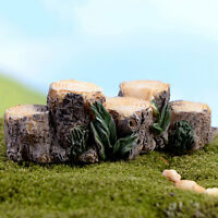 Miniature de résine arbre de bois de jardin FR ITHWC