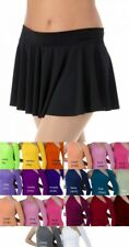 Matte Jersey Short Circle Skirt Dance Costume Tap Clearance Color & Size Choice