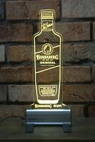 Bundaberg Rum Bottle LED Sign,Edgelit,Bar,Mancave,Led,Remote Control,Light