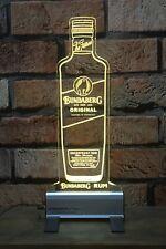Bundaberg Rum  Bottle LED Sign,Edgelit,Bar,Mancave,Led,Remote Control, Acrylic