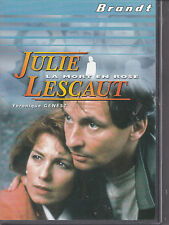 DVD JULIE LESCAUT  VERONIQUE GENEST LA MORT EN ROSE COLLECTOR BRANDT
