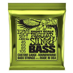 Ernie Ball Short Scale Regular Slinky Bass 45-105 P02852