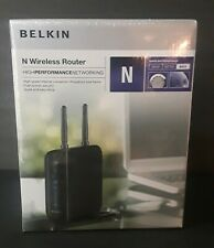 Belkin N+ Wireless Router F5D8236-4 V2 4 Port Modem