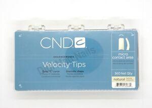 CND Velocity Tips NATURAL 360ct