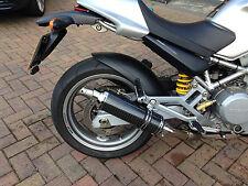 Ducati Monster M620 01-06 Demon Slash Carbon Fibre Round XLS Exhausts