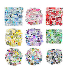 50 Pcs Water Bottles Stickers VSCO Girl Trendy Waterproof Vinyl Sticker