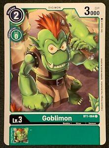 Goblimon | BT1-064 C | Green | Common | Special Booster VER.1.0 | Digimon TCG