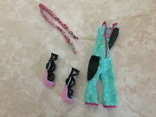 Monster High Doll LAGOONA BLUE SEA MONSTER FASHION PACK LOT JUMPSUIT SHOES SCARF