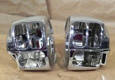 Chrome Handlebar Switch Housings Harley Davidson 1996-2006 Kuryakyn 9149 #1992