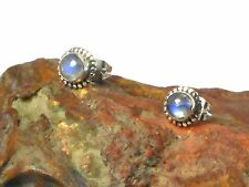 MOONSTONE   Sterling  Silver  925  Gemstone  Earrings / EAR  STUDS  -  5 mm