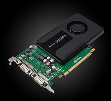 PNY Quadro K2000D, 2GB GDDR5, 2x DVI, Mini DisplayPort (VCQK2000D-PB/VCQK2000D)