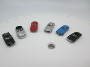 HO 1/87 Scale Lot of 6  CMW European sports car