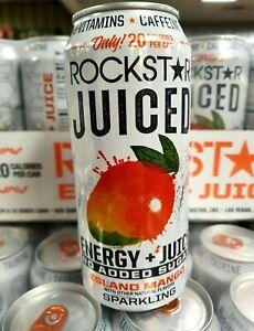 ROCKSTAR Juiced Island Mango Energy Drink 15 oz. (16-pack)