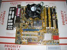 Asus P5E-VM DO Motherboard + Core 2 Quad Q8400 2.66GHz CPU + 4GB RAM + HSF + I/O