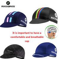 ROCKBROS World Champion Pro Team Cycling Cap Hat Sunhat Suncap Helmet Caps
