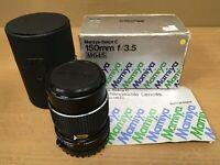 Mamiya-Sekor C 150mm f3.5 N for Mamiya 645 Super 645 PRO TL M645 1000s BOXED
