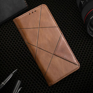 For HTC One M7 M8 M9 M10 Phone Case Back Cover PU Leather Flip Wallet Card Slot