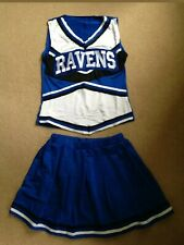 Womens Ladies Cheerleader Costume - Full Outfit Size M (8-12)