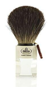 Omega 6189 Pure Badger Hair Shaving Brush