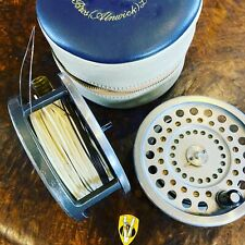 Hardy Marquis Salmon Number 2 Reel with Spare Spool Cases & Spey Fly Lines