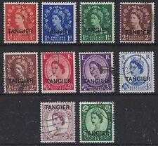 Pre-Decimal Elizabeth II (1952-Now) Morocco Agencies Stamps