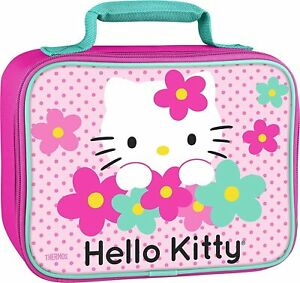 Thermos Hello Kitty Lunch Bag Insulated Soft Insulated Lunch Kit Box