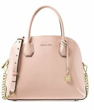 NWT-MICHAEL KORS MERCER LARGE DOME SATCHEL Patent  Leather Ballet Pink
