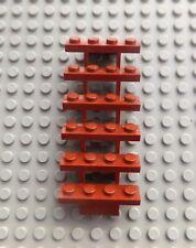 D B 30134 New Lego 1x Scale Stairs 7x4x6 Camminata Straight Open Grigio Scuro