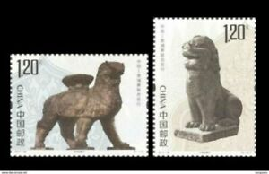 2017-28 china-Cambodia joint Cangzhou iron lion and Buchan Temple lion STAMP 2V