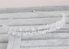 Nozze di diamante strass cerchietto copricapo Cristallo Accessori da sposa 1 PC