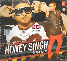 HONEY SINGH AT HIS BEST - A PACK OF 2 CDs SET - NEW BOLLYWOOD SOUND TRACK CD
