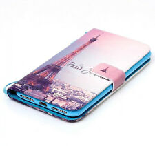 iPhone 7+ / 8+ PLUS - Paris Eiffel Tower Card ID Holder Wallet Diary Case Cover