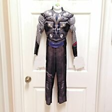 Thor Marvel Avengers Muscle costume size Small 5 6 7 Missing the Cape