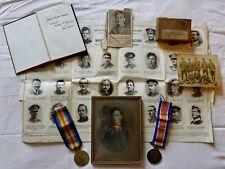 More details for ww1 medals and death plaque etc . missing presumed fallen