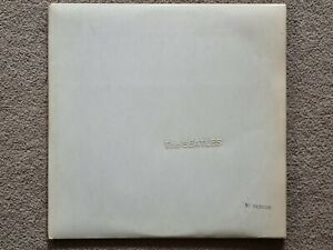 The Beatles The White Album 2nd Pressing Side Opening Numbered 0128696 VG+ Vinyl