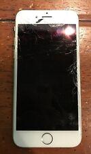 Fake Craquelé silber/weiß mit Apple iPhone 6 (alle Knöpfe klicken) * Dummy *