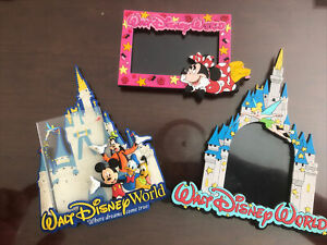 Walt Disney World Refrigerator Magnets (3)