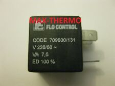 Flo Control Solenoide Bobina 220V 50Hz 7.5 VA Sedile Ø 10mm Codice 709000/131